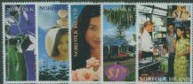 NFI SG761-5 Perfume from Norfolk Island set of 5